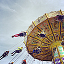 Chairoplane on a funfair - GWF003359