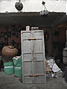 Morocco, old door in a storeroom - JM000289