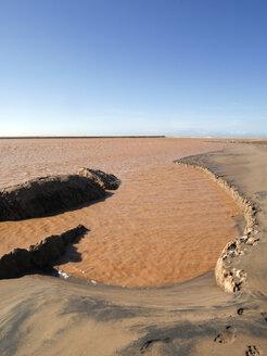 Morocco, flooding at river mouth of Massa into North Atlantic - JMF000297
