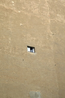 Germany, Berlin, wall with small opened window - JMF000292