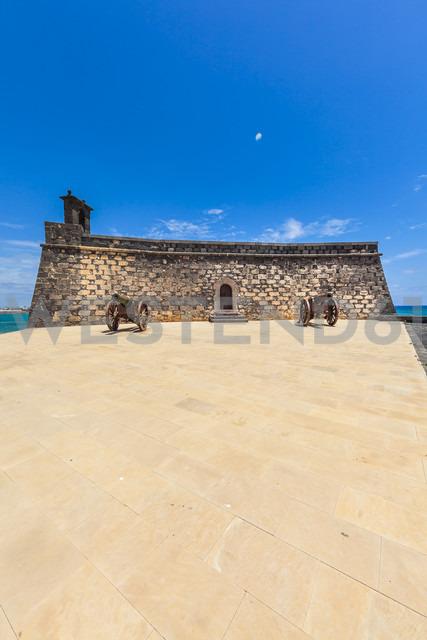 Spain, Lanzarote, Arrecife, Castillo de San Gabriel - AMF003540