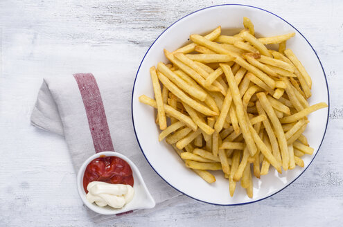 French fries on plate - ODF000946