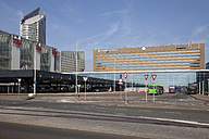 Netherlands, Den Haag, Main Station, Bus terminal - WI001194