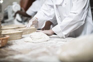 Baker kneading dough - ZEF003781