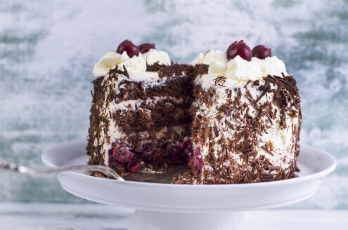Plate with Black Forest Cake - ODF000965