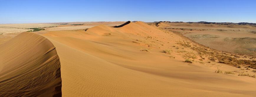 Africa, Namibia, sand dunes of the Namib Desert along Kuiseb River near Gobabeb, Namib Naukluft Park - ES001485