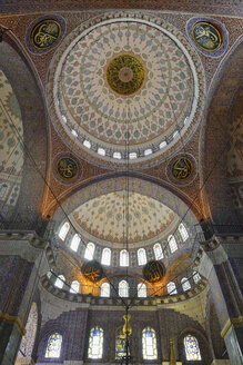 Turkey, Istanbul, central cupola of New Mosque - ES001492