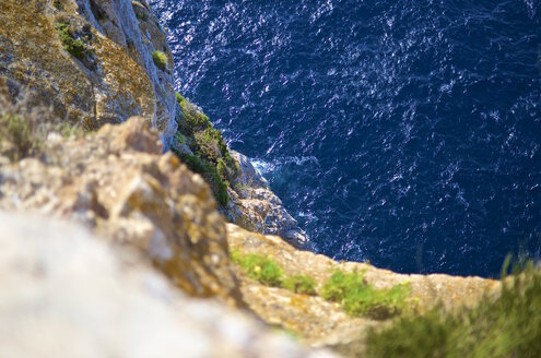 Spain, Majorca, Cap Formentor, view to the sea from above - MHF000346
