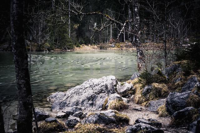 Germany, Bavaria, Ramsau, Hintersee - MJF001440