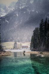 Germany, Bavaria, Ramsau, Hintersee - MJF001446
