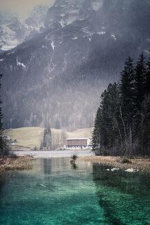 Germany, Bavaria, Ramsau, Hintersee - MJF001446