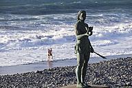 Spain, Canary Islands, La Gomera, Valle Gran Rey, monument of Hautacuperche - SIE006355