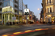 Germany, Berlin, traffic at Checkpoint Charlie Museum - BFR000843