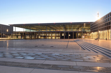 Germany, Berlin, Berlin Brandenburg Airport - BFR000846