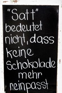 Blackboard of a restaurant - EJW000614