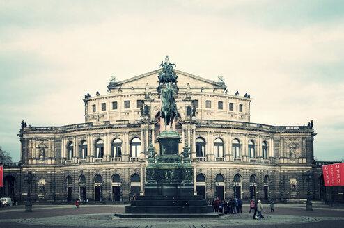 Germany, Saxony, Dresden, Semper Opera House - CST000737