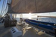 Pacific Ocean, sailing ship at Galapagos Islands - FOF007544