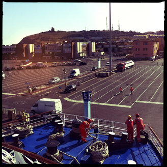 piombino ferry harbour, moby lines, elba, italy, europe - LUL000014