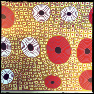 aboriginal art, alice springs, northern territory, australia - LUL000090
