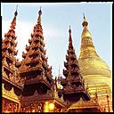shwedagon pagoda, yangon, myanmar - LUL000108