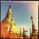 shwedagon pagoda, yangon, myanmar - LUL000112