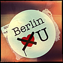 sticker, berlin loves you, heart, friedrichshain, kreuzberg,  berlin, germany - LUL000156