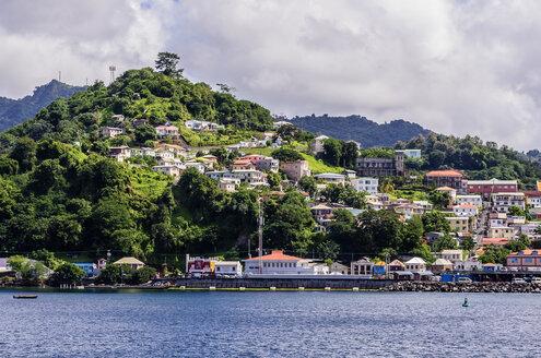 Antilles, Lesser Antilles, Grenada, view to St. George's - THAF001181