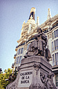 Spain, Madrid, Calderon de la Barca monument - EH000057