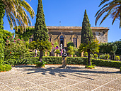 Italy, Sicily, Agrigento, Valle dei Templi, Villa Aurea - AM003625