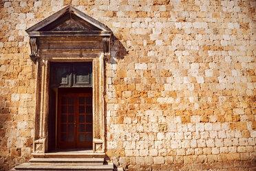 Croatia, Dubrovnik, entry door of an old building - EHF000076