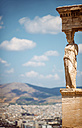 Greece, Athens, caryatide at sunlight - EHF000082