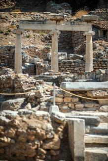 Turkey, Ephesus, three columns - EHF000100