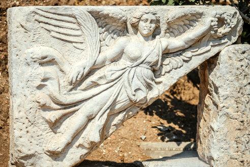 Turkey, Ephesus, relief of goddess Nike - EHF000085
