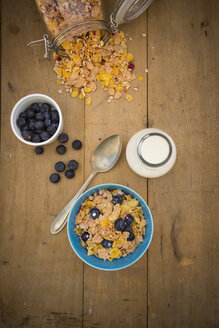 Glutenfree muesli with blueberries - LVF002595