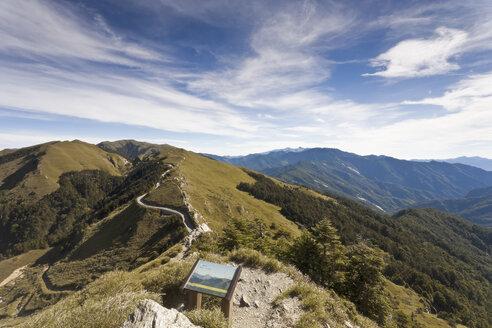 Taiwan, Renhe Road, Hohuan Jian Shan hiking trail - MEMF000676