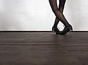 Legs of step dancing woman - LAF001290