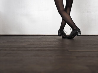 Legs of step dancing woman - LAF001290