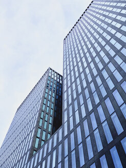 Switzerland, Zurich, facade of modern office tower - SEGF000222