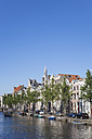 Netherlands, County of Holland, Amsterdam, Town canal with canal houses - GW003743
