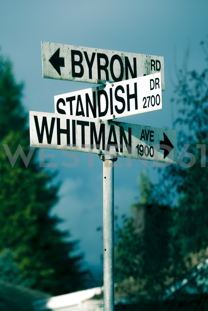 Canada, Vancouver, Street signs - NGF000162