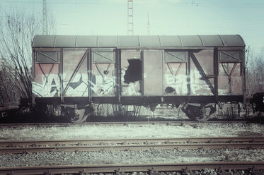 Old train car - CSTF000796