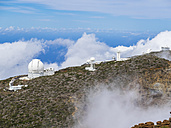 Spain, Canary Islands, La Palma, Observatory at Roque de los Muchachos - AM003636