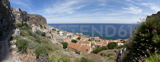 Greece, Monemvasia, townscape - WWF003479