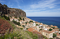 Greece, Monemvasia, townscape - WWF003481