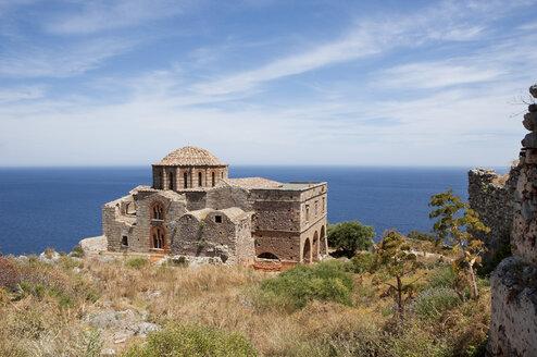 Greece, Monemvasia, Byzantine Church Hagia Sophia - WWF003494