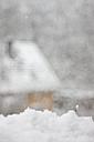 Germany, Brandenburg, Snow - ASCF000033