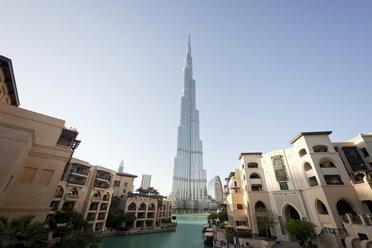 UAE, Dubai, view to Burj Khalifa - PCF000033
