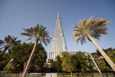 UAE, Dubai, view to Burj Khalifa - PCF000034