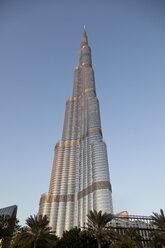 UAE, Dubai, view to Burj Khalifa - PCF000035