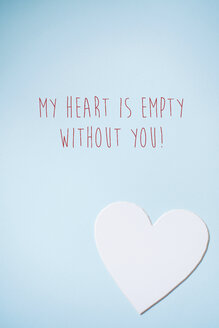 Valentine's heart with text - BZF000002